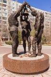 Τρεις στρατιώτες με το κουδούνι Στοκ εικόνα με δικαίωμα ελεύθερης χρήσης