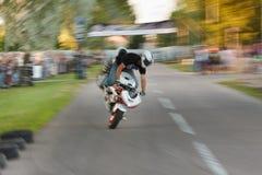 τρελλή μοτοσικλέτα οδη&ga Στοκ εικόνες με δικαίωμα ελεύθερης χρήσης