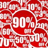 τρελλή πώληση Στοκ εικόνα με δικαίωμα ελεύθερης χρήσης