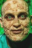 Τρελλός άρρωστος άνδρας στοκ φωτογραφία με δικαίωμα ελεύθερης χρήσης