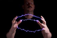 τρελλός επιστήμονας Στοκ Εικόνες
