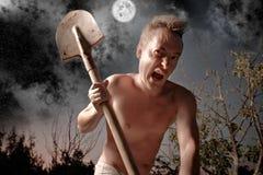 τρελλό άτομο Στοκ εικόνες με δικαίωμα ελεύθερης χρήσης