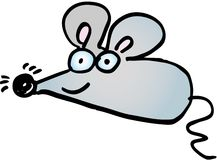 τρελλό ποντίκι Στοκ φωτογραφία με δικαίωμα ελεύθερης χρήσης