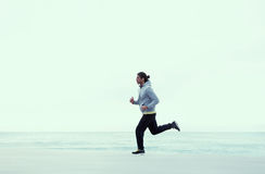Τρεξίματα τύπων στο καθαρό αέρα στοκ φωτογραφία με δικαίωμα ελεύθερης χρήσης