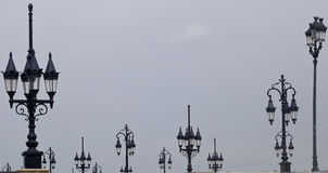 Τρελλά φανάρια Στοκ φωτογραφία με δικαίωμα ελεύθερης χρήσης