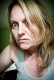Τρελλή γυναίκα Στοκ Φωτογραφία