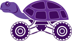 Τρελλή χελώνα απεικόνιση αποθεμάτων