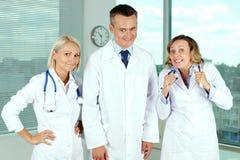 Τρελλοί γιατροί Στοκ Φωτογραφίες