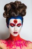 Τρελλός αποτελέστε την τέχνη Στοκ φωτογραφία με δικαίωμα ελεύθερης χρήσης
