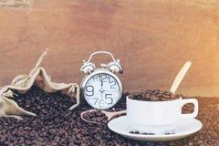 Τρελλός ερωτευμένος με τον καφέ Στοκ Εικόνα