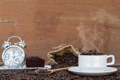 Τρελλός ερωτευμένος με τον καφέ Στοκ εικόνες με δικαίωμα ελεύθερης χρήσης