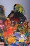 Τρελλός καλλιτέχνης στοκ φωτογραφία με δικαίωμα ελεύθερης χρήσης