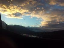 τρελλός ουρανός Στοκ Εικόνες