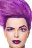 Τρελλός, όμορφος, γοητεία, πρότυπο μόδας Στοκ φωτογραφία με δικαίωμα ελεύθερης χρήσης
