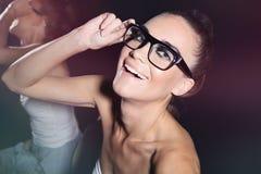 Τρελλό κορίτσι Στοκ φωτογραφίες με δικαίωμα ελεύθερης χρήσης