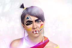 Τρελλό κορίτσι Στοκ εικόνα με δικαίωμα ελεύθερης χρήσης