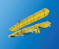 Τρελλό παλαιό αεροπλάνο Στοκ Εικόνα