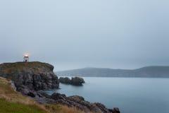 Τριάδα νέα γη Καναδάς φάρων σημείου οχυρών στοκ εικόνες