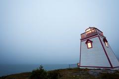 Τριάδα νέα γη Καναδάς φάρων σημείου οχυρών στοκ φωτογραφία