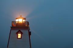 Τριάδα νέα γη Καναδάς φάρων σημείου οχυρών στοκ εικόνα με δικαίωμα ελεύθερης χρήσης