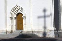 Τριάδα Sergius Lavra στη Ρωσία Διαγώνια σκιά Στοκ Εικόνες