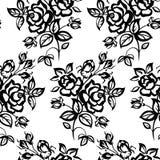 Τριαντάφυλλα άνευ ραφής Στοκ Φωτογραφία