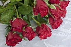 τριαντάφυλλα ανθοδεσμών Στοκ Φωτογραφία
