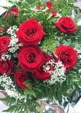 τριαντάφυλλα ανθοδεσμώ&nu Στοκ εικόνα με δικαίωμα ελεύθερης χρήσης
