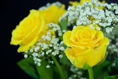 τριαντάφυλλα ανθοδεσμώ&nu Στοκ Φωτογραφία