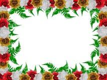 τριαντάφυλλα διακοσμήσ&eps Στοκ Φωτογραφίες