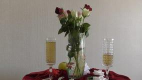 τριαντάφυλλα ζωής ακόμα απόθεμα βίντεο