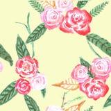 τριαντάφυλλα προτύπων άνε&upsi διανυσματική απεικόνιση