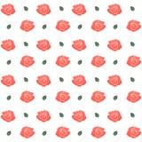 τριαντάφυλλα προτύπων άνε&upsi επίσης corel σύρετε το διάνυσμα απεικόνισης διανυσματική απεικόνιση