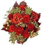 τριαντάφυλλα σύνθεσης Στοκ Εικόνα