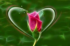 Τριαντάφυλλα την ημέρα βαλεντίνων ` s Στοκ φωτογραφία με δικαίωμα ελεύθερης χρήσης