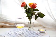 τριαντάφυλλα τρία Στοκ Εικόνα
