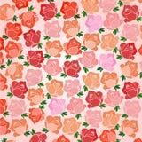 τριαντάφυλλα τυπωμένων υ&lam Στοκ εικόνα με δικαίωμα ελεύθερης χρήσης