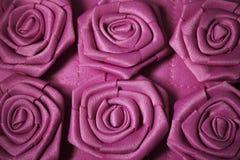 τριαντάφυλλα υφάσματος στοκ φωτογραφίες με δικαίωμα ελεύθερης χρήσης