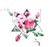 τριαντάφυλλα ελεύθερη απεικόνιση δικαιώματος
