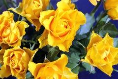 Τριαντάφυλλα ανθοδεσμών - λουλούδια Στοκ Εικόνα
