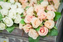 Τριαντάφυλλα μεταξιού Στοκ Εικόνες