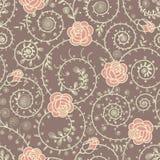 τριαντάφυλλα προτύπων άνε&upsi Στοκ Φωτογραφίες