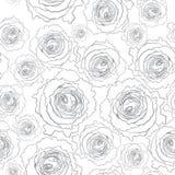 τριαντάφυλλα προτύπων άνε&upsi Στοκ φωτογραφία με δικαίωμα ελεύθερης χρήσης