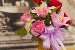 Τριαντάφυλλα υφάσματος Στοκ εικόνα με δικαίωμα ελεύθερης χρήσης