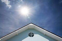 Τριγωνική στέγη στοκ εικόνες με δικαίωμα ελεύθερης χρήσης