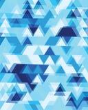 Τριγωνικός ή τετραγωνικός γεωμετρικός αφηρημένος άνευ ραφής Στοκ φωτογραφίες με δικαίωμα ελεύθερης χρήσης
