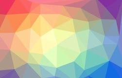 Τριγωνικό αφηρημένο υπόβαθρο Στοκ Φωτογραφία