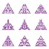 Τριγωνικό Sigils Στοκ φωτογραφία με δικαίωμα ελεύθερης χρήσης