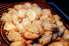 Τριζάτες τηγανισμένες γαρίδες Στοκ φωτογραφία με δικαίωμα ελεύθερης χρήσης