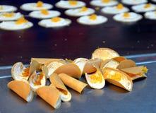 Τριζάτη γλυκιά ζύμη Στοκ εικόνα με δικαίωμα ελεύθερης χρήσης